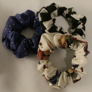 custom scrunchies designed by YOU